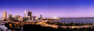 Perth Skyline by heeeeman