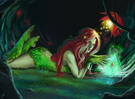 Trinquette - Poison Ivy by Lulolana