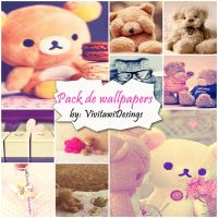 Pack de 10 Wallpapers Muy Bonitos by VivitawiDesings