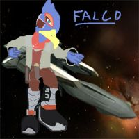 Cartoony Falco by PacDuck