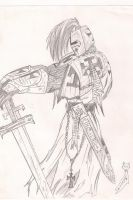 Teutonic Warrior by Jeremia-Cline