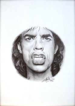 Mike Jagger - Completed . by Cap007