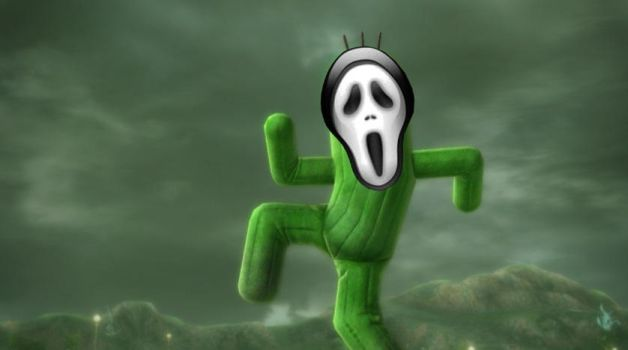 Scream Cactuar )) by MR-ENERGYZONA