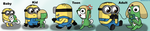 Growing Up Together - Dave and Keroro by Michivous12