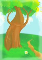 Happy Tree by five-pm