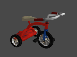 FALLOUT 4 TRICYCLE by Oo-FiL-oO