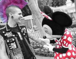 Minnie and Punk by Thelema001