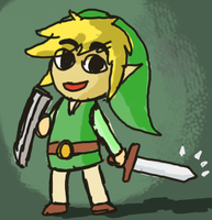 Toon Link by Jo-Onis