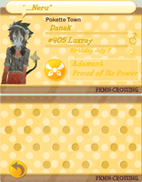 PKMN Crossing: Danak by Zinxeon
