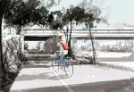 L.A. River Bike ride sketch. by PascalCampion