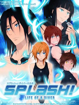 .:*Splash! - Free OC Story - Cover Art Edition*:. by dreamchaser21