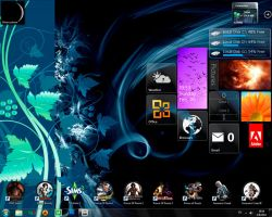My desktop 02.2011 by Dragon-Dark