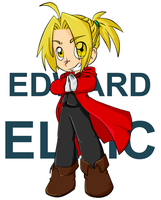 edward elric by oh-odree