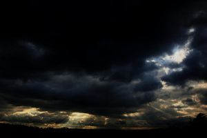 Rays in the Dark by Bawwomick