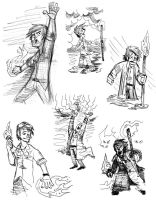 sketchbook 8 dresden files by mirandajane