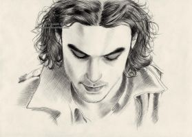 Aidan Turner as Mitchell by Ilojleen