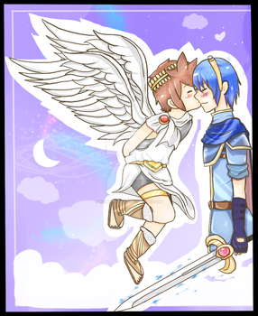 Kiss in the sky. by Roiner-Rinku