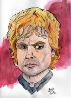 Pop Portraits: Tyrion Lannister by brodiehbrockie