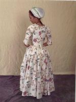 Glazed Chintz Gown Full Back by Lady-Lovelace