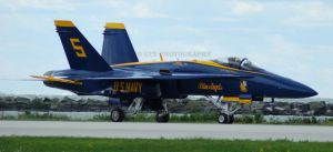 Blue Angels Taxiing by GTX-Media