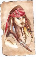 fan art Jack sparrow by Dream-Catcher-88