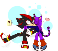 .:commish:.shadow and Michelle by kirei-naa