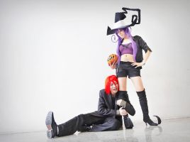 Soul Eater - Spirit and Blair by SweetSix