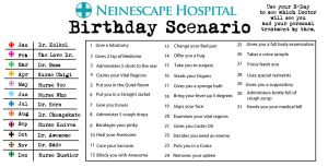 Birthday Scenario Prescription by Arkham-Insanity