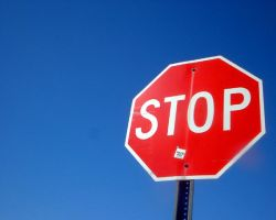 Stop sign by pepsipepsibaby