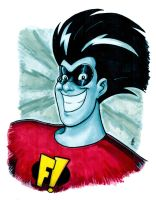 Freakazoid! Fricassee! by BigChrisGallery