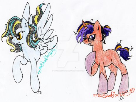 MLP 10P adopt: A3 and D4 by NovaAssassin
