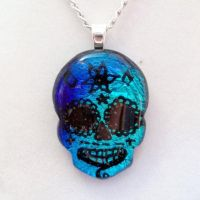 Fused Day of The Dead Skull by poisons-sanity