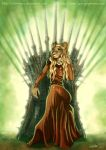 ASOIAF - Queen Cersei Lannister by ClaireLyxa