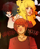 TRIBUTE: Death Note by norree