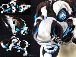 Rapture 2.0 | Fursuit Head by RancidRampage