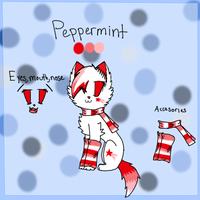 Peppermint Ref Sheet by BlossomTehKat
