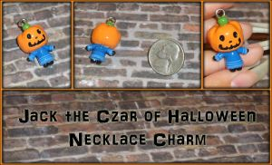 Animal Crossing - Jack the Czar of Halloween Charm by YellerCrakka