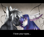 I love your eyes by Pearl-Katze