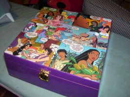 Disney Princess Keepsake Box 2 by UnderdogGirl