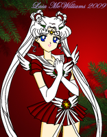 :SS: Sailor Christmas Cosmos by LaylaSerenity