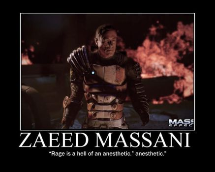 Zaeed Massani by iceman-3567