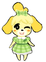 Isabelle's New Dress by Mohiho