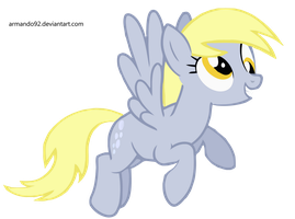 Derpy Hooves Flying Vector by armando92