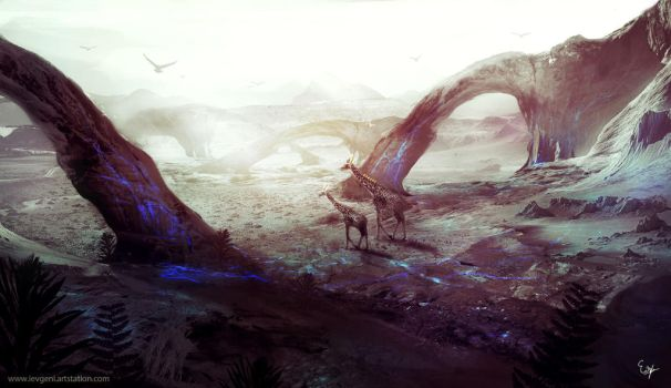 Animal environment concept by iEvgeni