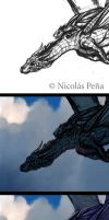 Blue Dragon, tutorial. by Amisgaudi
