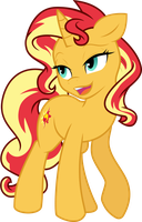 Sunset Shimmer by illumnious