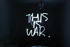 THIS IS WAR by xribly