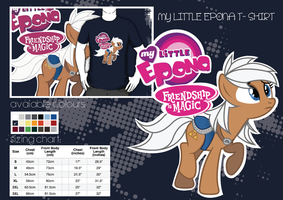 My little Epona t-shirt by GeckoGeek