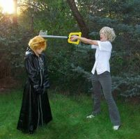 Joshua VS Roxas - the drama by Ninja-Chi