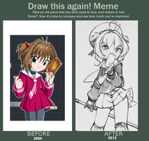 Before after meme by Julylunmoon